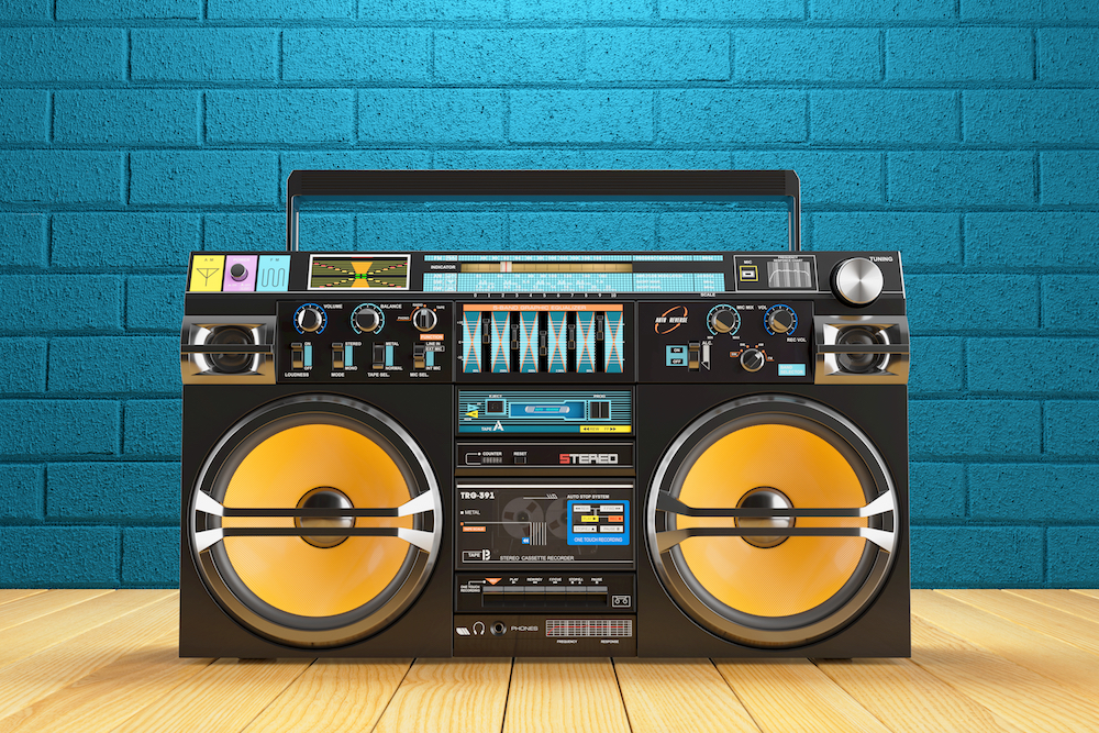 Mixtape TimeHop BoomBox image